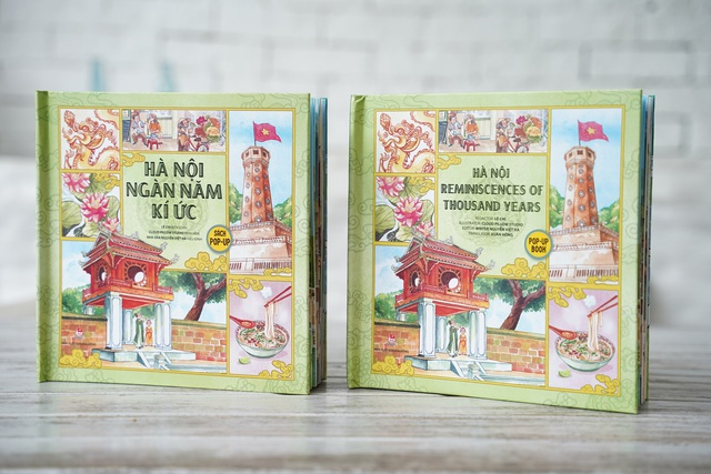 Tái hiện ngàn năm Thăng Long – Hà Nội qua sách dựng hình 3D - Ảnh 1.