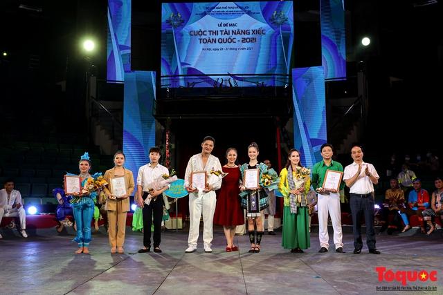 Bế mạc Cuộc thi Tài năng Xiếc toàn quốc 2021 - Ảnh 9.