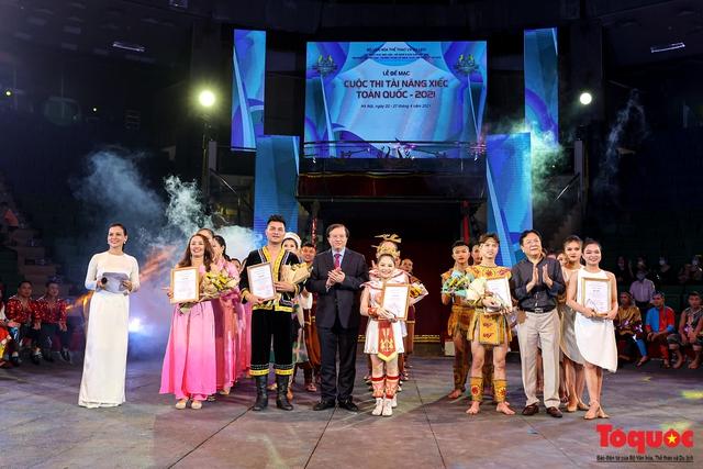 Bế mạc Cuộc thi Tài năng Xiếc toàn quốc 2021 - Ảnh 8.