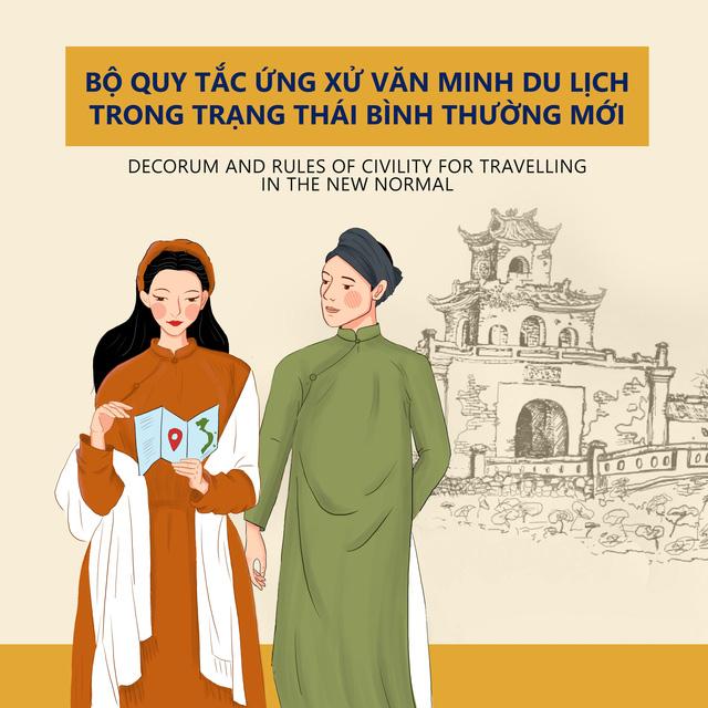 Thừa Thiên Huế ban hành Bộ Quy tắc ứng xử văn minh du lịch trong trạng thái bình thường mới - Ảnh 1.