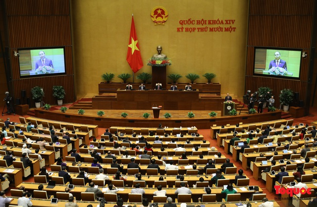 """Tân Chủ tịch nước Nguyễn Xuân Phúc: """"Con tàu"""" Việt Nam đã vượt qua một hải trình dồn dập, đầy bão tố - Ảnh 2."""