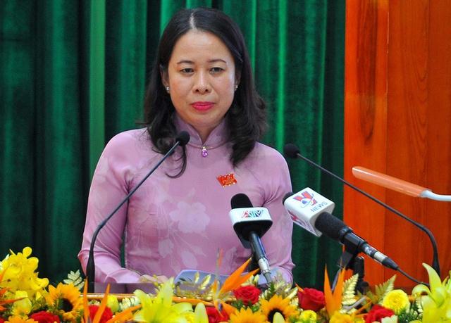 Bà Võ Thị Ánh Xuân được bầu giữ chức Phó Chủ tịch nước - Ảnh 1.
