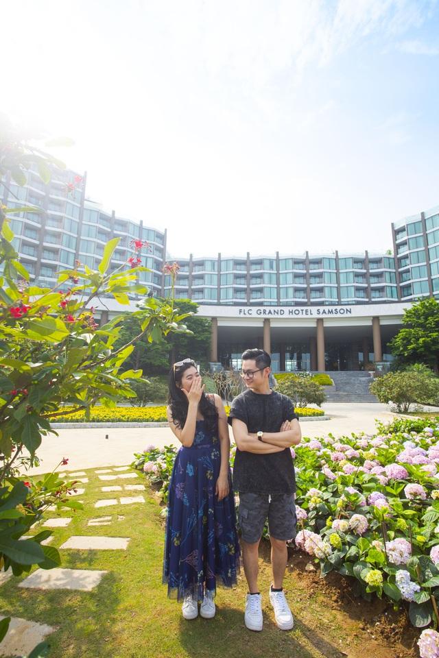 Du khách háo hức check in trước thềm Lễ hội hoa Sầm Sơn - Ảnh 4.