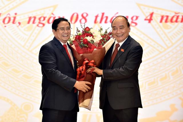 Bàn giao công việc của Thủ tướng Chính phủ - Ảnh 1.