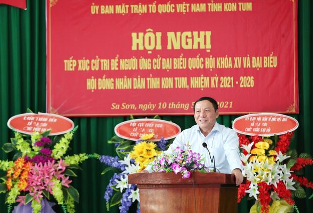 """Bộ trưởng Nguyễn Văn Hùng: """"Nếu làm đại biểu Quốc hội, tôi ý thức được mình phải là người đại diện cho ý chí, nguyện vọng của cử tri"""" - Ảnh 1."""