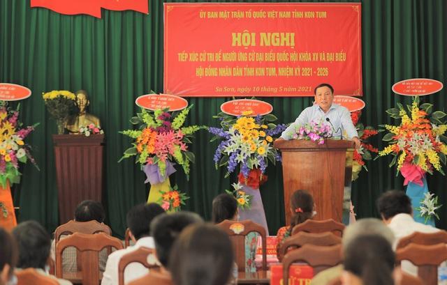 """Bộ trưởng Nguyễn Văn Hùng: """"Nếu làm đại biểu Quốc hội, tôi ý thức được mình phải là người đại diện cho ý chí, nguyện vọng của cử tri"""" - Ảnh 2."""