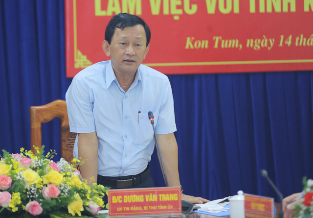 """Bộ trưởng Nguyễn Văn Hùng: """"Kon Tum có quang cảnh đẹp, sao không mạnh dạn đặt ước mơ trở thành trung tâm hội nghị của khu vực miền Trung-Tây Nguyên"""" - Ảnh 3."""
