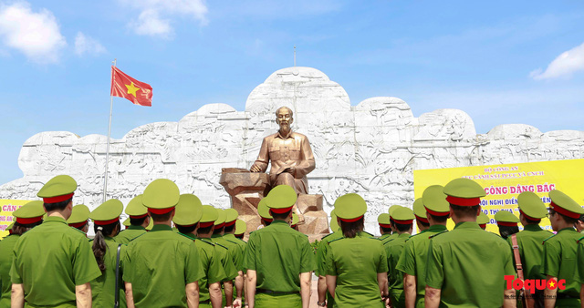 Đẩy mạnh học tập và làm theo tư tưởng, đạo đức, phong cách Hồ Chí Minh của  các tổ chức Đảng cơ sở thuộc Đảng bộ Học viện Cảnh sát Nhân dân - Ảnh 2.