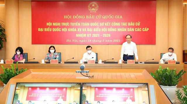 Hà Nội cam kết tổ chức thành công cuộc bầu cử ĐBQH và HĐND các cấp - Ảnh 1.