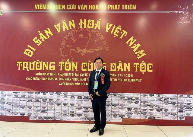 Nghệ nhân Dương Cao Lãnh: Nỗ lực gìn giữ giá trị văn hoá tín ngưỡng - Ảnh 3.