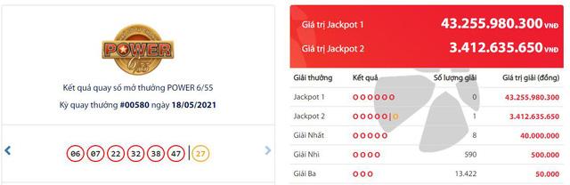 Thuê bao Mobifone trúng Jackpot đầu tiên trên kênh Vietlott SMS trị giá 3,4 tỷ đồng  - Ảnh 1.