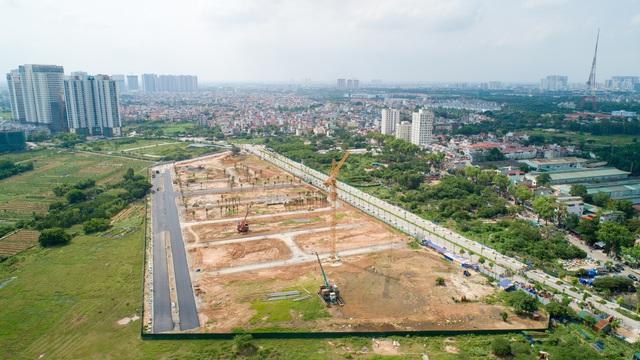 FLC Premier Parc đẩy mạnh thi công hoàn thiện hạ tầng khu đô thị - Ảnh 1.