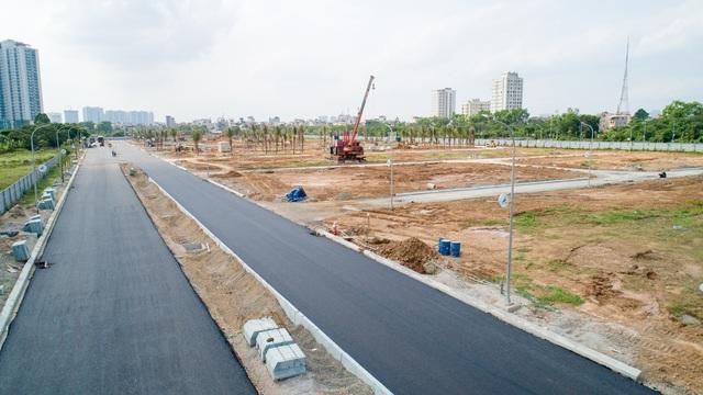 FLC Premier Parc đẩy mạnh thi công hoàn thiện hạ tầng khu đô thị - Ảnh 3.