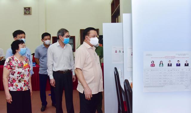 Hà Nội đã đảm bảo mọi điều kiện sẵn sàng cho cuộc bầu cử - Ảnh 1.