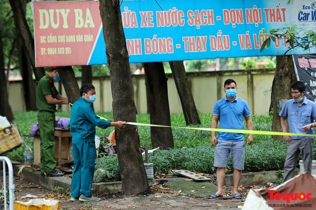 Hà Nội: phong tỏa tạm thời chợ Xanh Văn Quán vì có ca nghi mắc Covid-19 ghé qua - Ảnh 3.