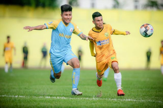 Khai mạc giải hạng Nhì 2021: Hòa Bình FC chia điểm cùng Hải Nam Vĩnh Yên Vĩnh Phúc ngày ra quân - Ảnh 1.