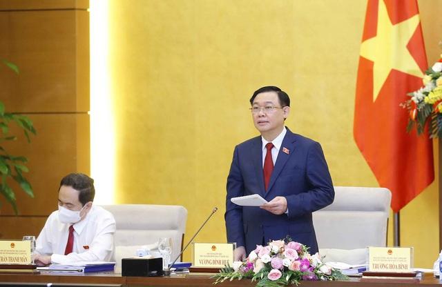 Phiên họp thứ 7 Hội đồng Bầu cử quốc gia: Thông qua Nghị quyết công bố kết quả và danh sách những người trúng cử đại biểu Quốc hội khóa XV - Ảnh 1.
