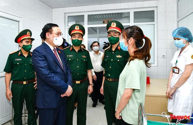 Chủ tịch Quốc hội Vương Đình Huệ làm việc tại Viện Nghiên cứu y dược học quân sự và Học viện Quân y - Ảnh 5.