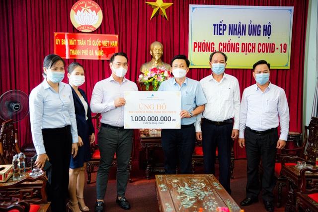 Đất Xanh Miền Trung ủng hộ 3 tỷ đồng cho Quỹ vắc-xin Covid-19 - Ảnh 1.