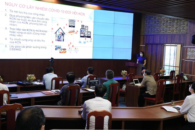 Gần 1.000 doanh nghiệp tại Bắc Ninh được trang bị kỹ năng phòng chống dịch khi quay lại sản xuất - Ảnh 1.