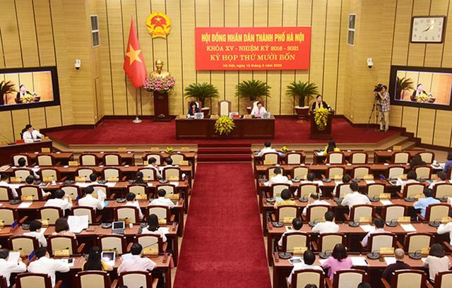 Tiếp xúc cử tri chuyên đề đối với những vấn đề nhân dân quan tâm trước kỳ họp HĐND thành phố Hà Nội - Ảnh 1.