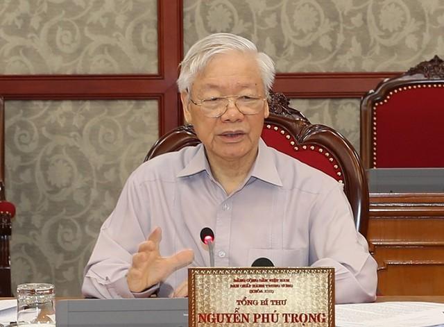 Tổng Bí thư Nguyễn Phú Trọng: Huy động các nguồn lực để đẩy nhanh việc mua và tiêm vaccine - Ảnh 1.