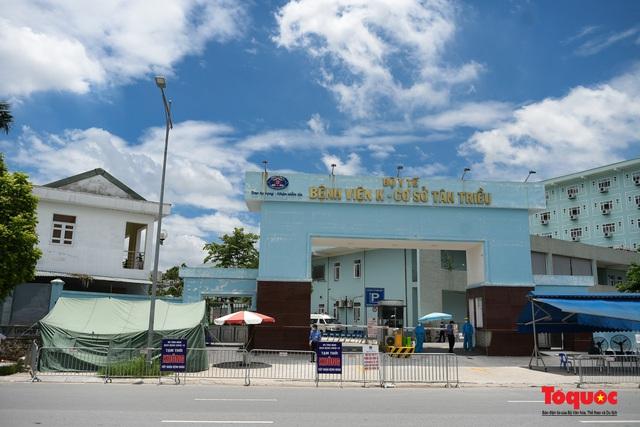 Hà Nội: Chính thức kết thúc cách ly y tế Bệnh viện K Tân Triều - Ảnh 1.