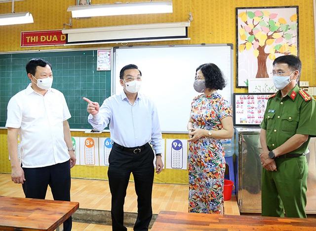 Kỳ thi lớp 10 THPT tại Hà Nội diễn ra thành công - Ảnh 1.