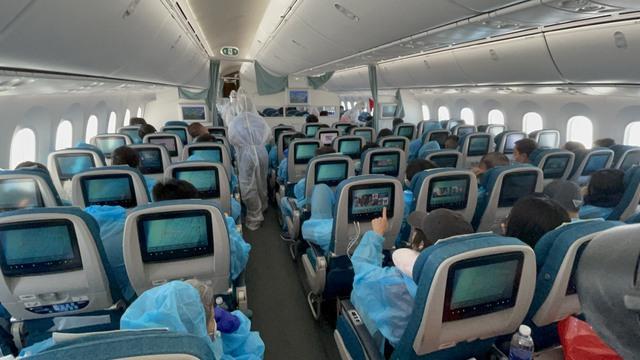 Chuyến bay đầu tiên đưa công dân Việt Nam từ Hoa Kỳ về nước trong năm 2021 - Ảnh 1.