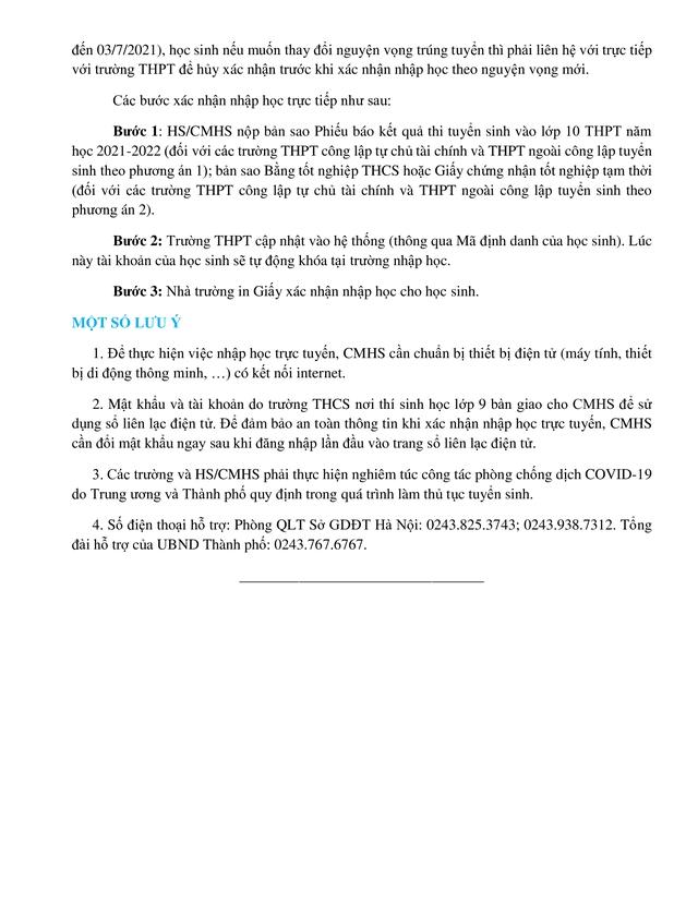 Thí sinh nhận giấy báo kết quả thi phải xác nhận nhập học vào lớp 10 trước ngày 3/7 - Ảnh 11.