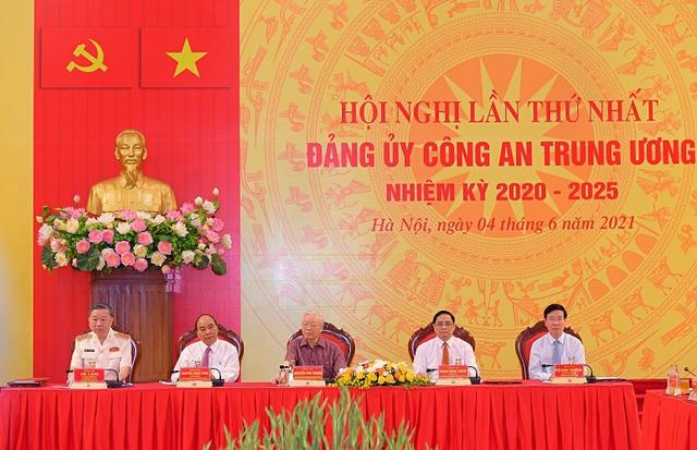 Công bố quyết định của Bộ Chính trị chỉ định nhân sự Đảng ủy công an Trung ương - Ảnh 1.