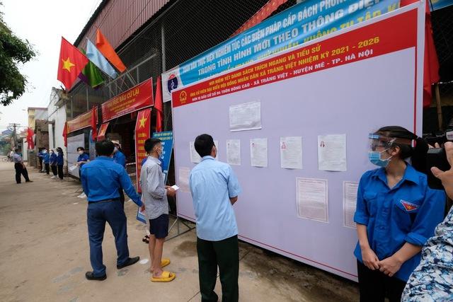 Hơn 1.000 cử tri Hà Nội đi bầu cử lại - Ảnh 1.