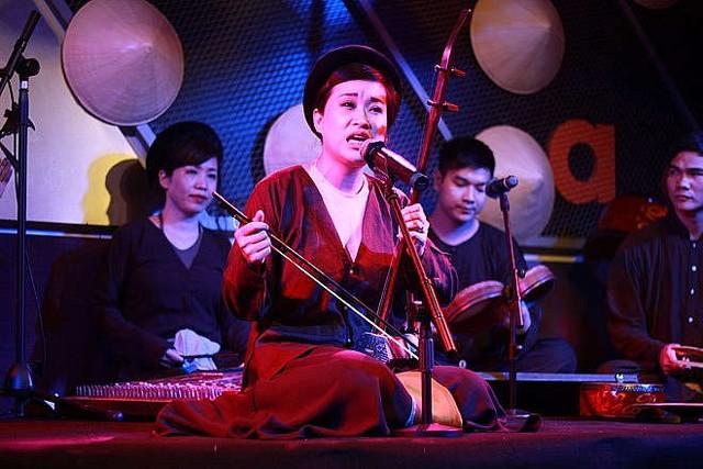 Talkshow Chiếu Xẩm- Xưa và Nay- lan tỏa giá trị văn hóa nghệ thuật truyền thống - Ảnh 1.