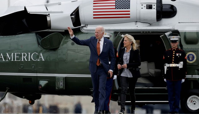 Tổng thống Biden bắt đầu chuyến công du nước ngoài đầu tiên - Ảnh 1.