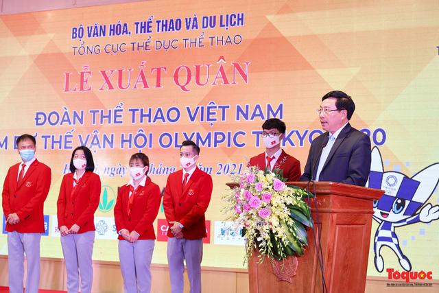 Phó Thủ tướng Phạm Bình Minh: Mỗi thành viên của đoàn TTVN là một sứ giả thiện chí, chân thành để quảng đất nước, con người Việt Nam - Ảnh 1.