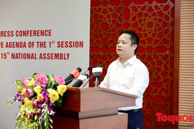 Chuẩn bị nhiều phương án đảm bảo an toàn phòng dịch trong Kỳ họp thứ nhất, Quốc hội khóa XV - Ảnh 3.