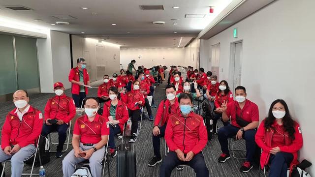 Đoàn Thể thao Việt Nam cập bến Nhật Bản, gia nhập đường đua Olympic - Ảnh 1.
