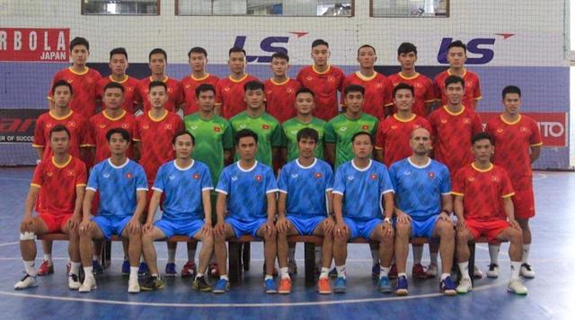 Đội tuyển Futsal công bố danh sách 22 cầu thủ hướng tới VCK FIFA Futsal World Cup 2021 tại Lithuania - Ảnh 1.