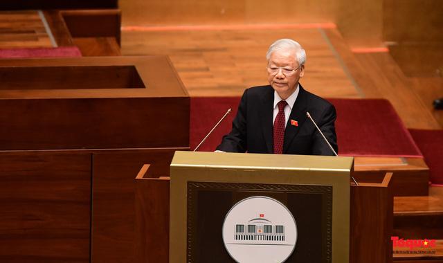 Tổng Bí thư Nguyễn Phú Trọng: Quốc hội cần tiếp tục đổi mới, nâng cao hơn nữa chất lượng, hiệu quả hoạt động - Ảnh 1.