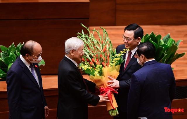 Tổng Bí thư Nguyễn Phú Trọng: Quốc hội cần tiếp tục đổi mới, nâng cao hơn nữa chất lượng, hiệu quả hoạt động - Ảnh 2.