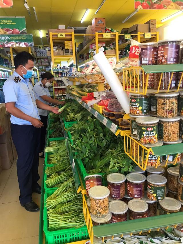 Kiểm tra, nắm bắt tình hình tại các siêu thị, cửa hàng tiện lợi, chợ truyền thống - Ảnh 1.