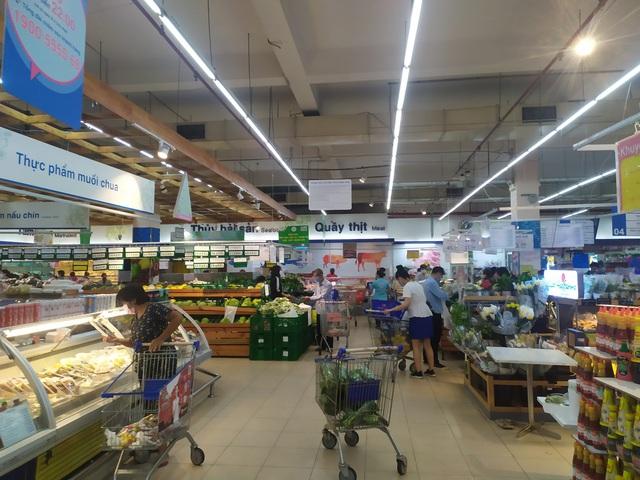 Đoàn công tác của Tổng cục QLTT giám sát nắm bắt tình hình tại các siêu thị, chợ truyền thống trên địa bàn TP. Hồ Chí Minh và các tỉnh phía Nam - Ảnh 3.