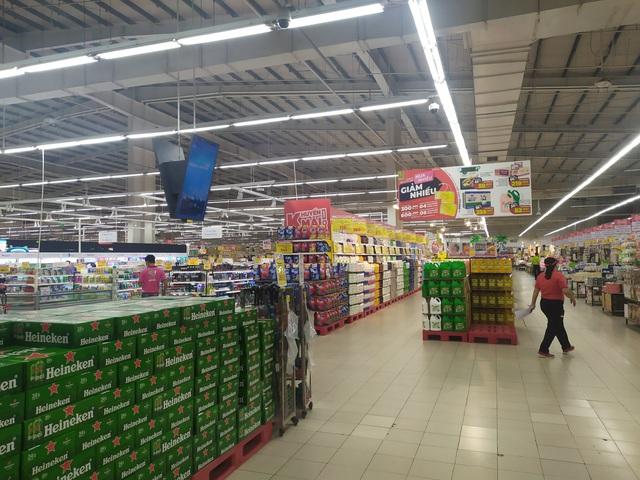 Đoàn công tác của Tổng cục QLTT giám sát nắm bắt tình hình tại các siêu thị, chợ truyền thống trên địa bàn TP. Hồ Chí Minh và các tỉnh phía Nam - Ảnh 1.