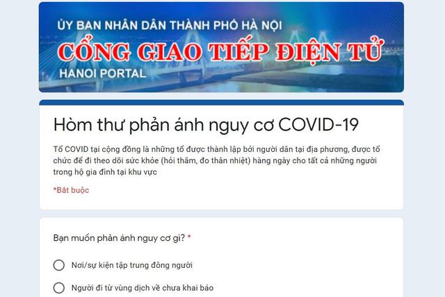 Người dân Hà Nội có thể phản ánh nơi tụ tập đông người qua 3 kênh thông tin này - Ảnh 1.