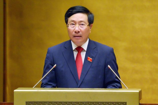 Phó Thủ tướng Phạm Bình Minh: Phân bổ linh hoạt, khoa học, hợp lý vắc xin cho các đối tượng ưu tiên - Ảnh 1.
