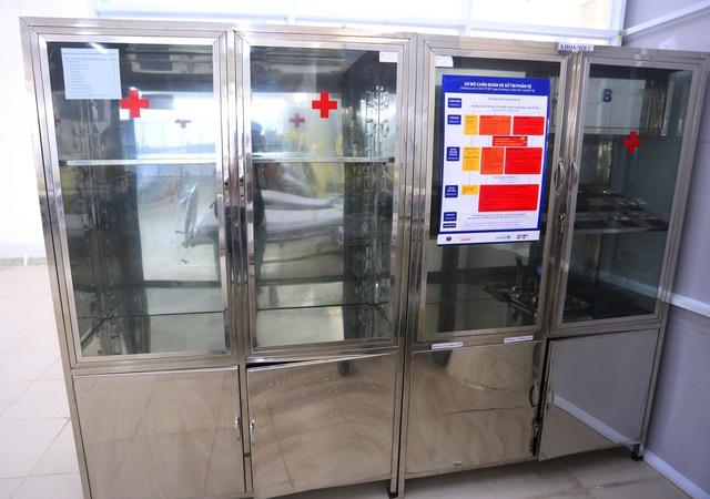 Ảnh: Bệnh viện dã chiến số 1 quy mô 1.700 giường điều trị bệnh nhân COVID-19 ở Đà Nẵng hoạt động - Ảnh 5.