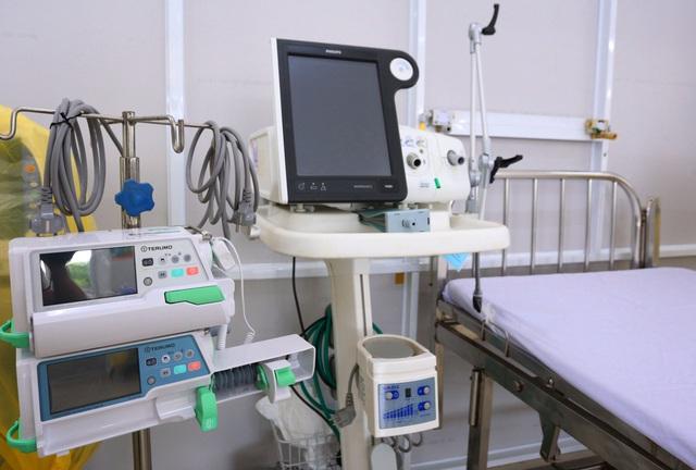 Ảnh: Bệnh viện dã chiến số 1 quy mô 1.700 giường điều trị bệnh nhân COVID-19 ở Đà Nẵng hoạt động - Ảnh 8.
