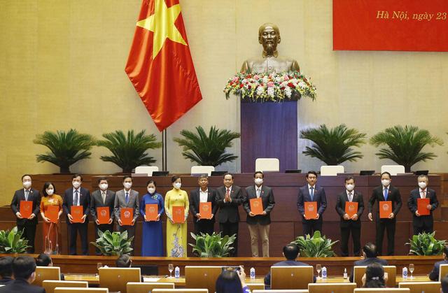 Kiện toàn các chức danh chủ chốt của Quốc hội - Ảnh 2.