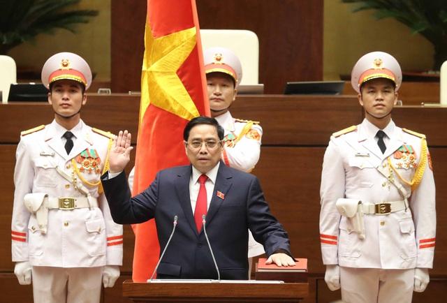 Ông Phạm Minh Chính được bầu giữ chức Thủ tướng Chính phủ - Ảnh 1.