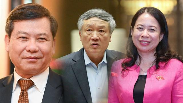 Bầu bà Võ Thị Ánh Xuân làm Phó Chủ tịch nước, ông Nguyễn Hòa Bình làm Chánh án TANDTC - Ảnh 1.